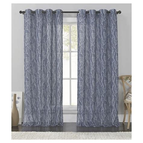 target drapes grommets vcny branches grommet curtain panel target