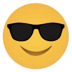 emoji sunglasses face free printable 4 the party packs blog