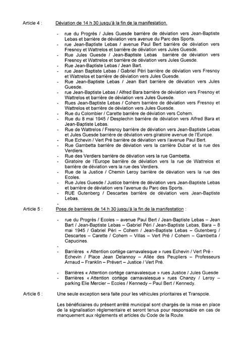 Informations travaux et circulation   Ville de Lys-lez-Lannoy