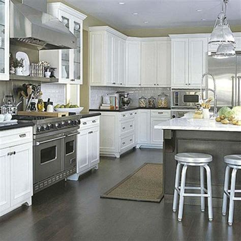 Types Of Kitchen Flooring Ideas Kitchen Floors Photos
