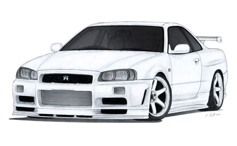 nissan skyline drawing outline pin by luis valdez on stuff to try pinterest nissan