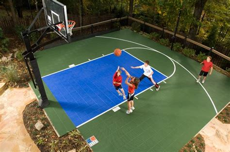 making a basketball court in your backyard sport court midwest sport court midwest sport court