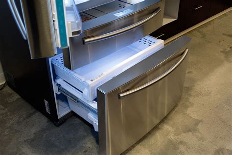 How To Clean Samsung Refrigerator Drawers by Samsung Rf28hmelbsr Review Door Refrigerator