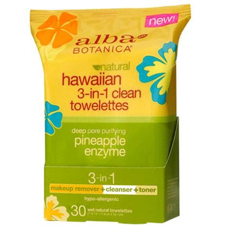 Alba Hawaiian Detox Towelettes Review by Alba Botanica Hawaiian 3 In 1 Clean Towelettes Prep Pads