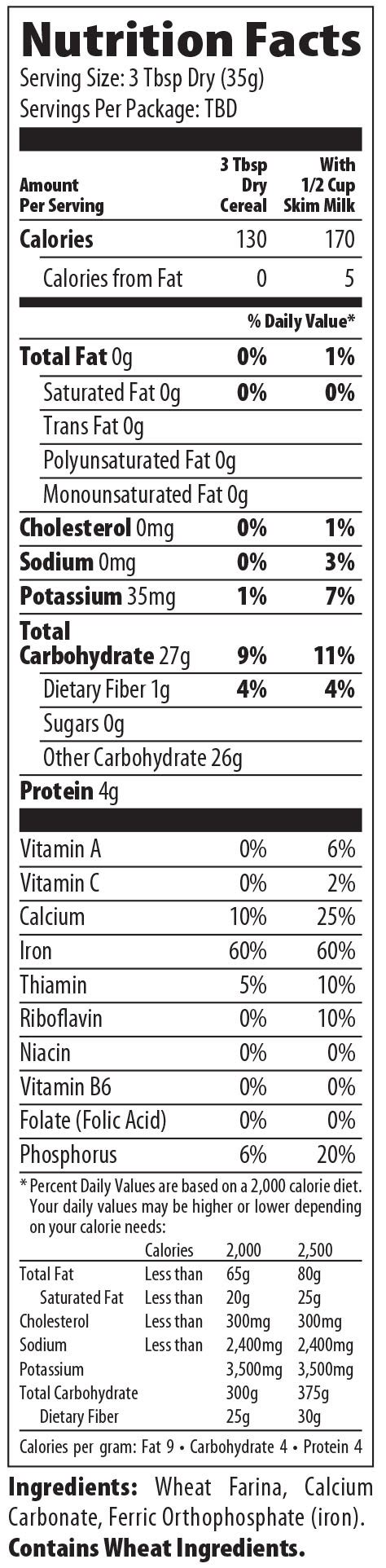 whole grain 21 day fix cereal nutrition facts for wheat cereal by malt o