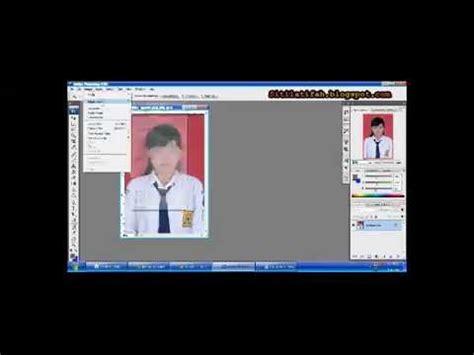 mengedit pas foto berwarna menjadi hitam putih youtube