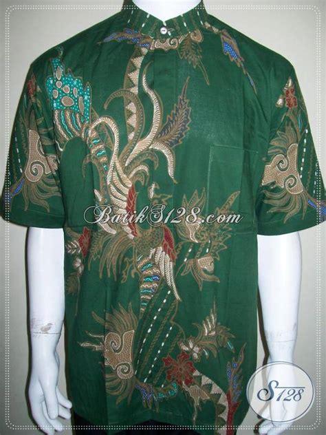 Kemeja Alisan Koko Corak Cokelat Muda Lengan Panjang 15 33 100 gambar baju batik pria hijau dengan jual pakaian batik pria trend terkini baju batik warna