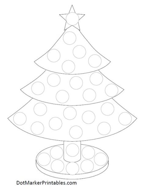 printable christmas tree dot to dot 17 best images about gommettes on pinterest bingo