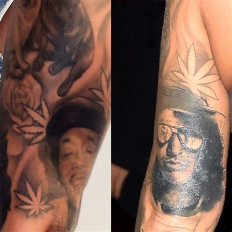 amber rose cover up tattoo wiz cover up www pixshark images