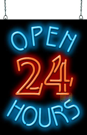open  hours neon sign ogm   jantec neon