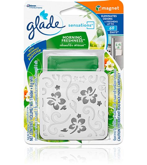 Glade Continuous Freshness Morningmobil glade 174 sensations magnet glade products