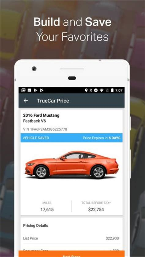 how apps can help in the car buying process bankrate com truecar the car buying app find new used cars