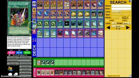 build a yugioh deck yugioh equip warrior deck profile march 2014