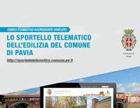 comune di pavia modulistica sportello telematico unificato urbanistica edilizia