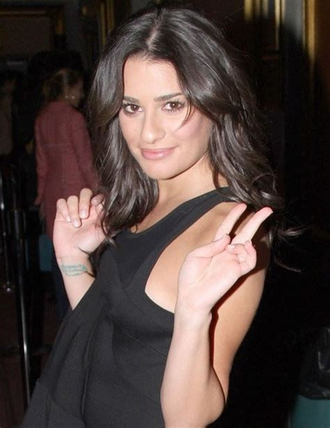 lea michele wrist tattoo lea michele sarfati tattoos pictures images pics photos