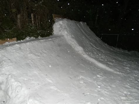 backyard ski park how to build a backyard snowboard park