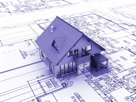 blue prints for houses rolls of architecture blueprints house plans stock