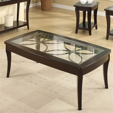 Uttermost Annandale Lakeview Rectangle Slate Top Coffee Table In Brown And
