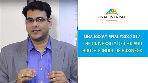 Booth Mba Application Deadline by Chicago Booth 2017 Mba Essay Questions Analysis Tips