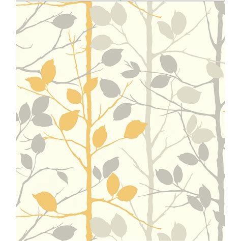 yellow grey pattern wallpaper arthouse wallpaper woodland grey and yellow at wilko com
