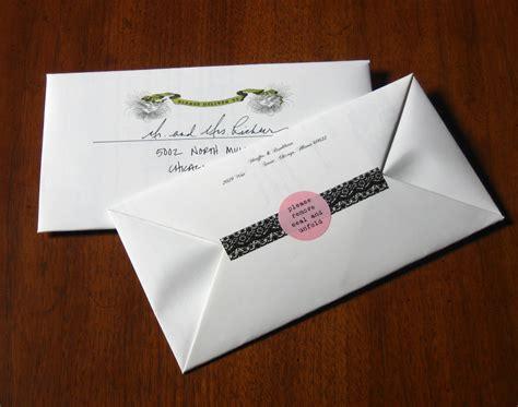 Invitation Letter Envelope Cool Diy Invites Diy The Thirty Something Wedding