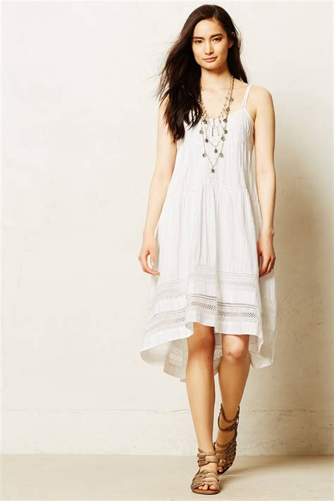 Anthropologie Summer Dress by Lyst Anthropologie Danthonia Dress In White