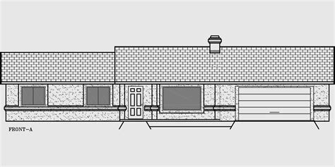 four bedroom ranch house plans one story house plans ranch house plans 4 bedroom house