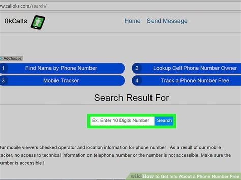 Phone Lookup I 4 Easy Ways To Get Info About A Phone Number Free Wikihow