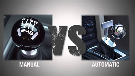 Bauanleitung Auto by Throwdown Thursday Manual Vs Automatic Transmissions