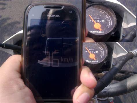 Kabel Speedometer Kmr Klx 150 Motor Murah komparasi speedo cbr150r 250r dan klx150 vs gps iwanbanaran