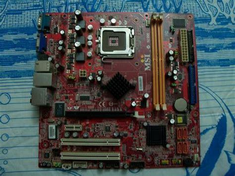 Msi Sockel 775 by Motherboards Msi Lga 775 Motherboard N1996 Was Sold For R160 00 On 30 Jun At 23 47 By
