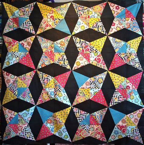 Kaleidoscope Patchwork Quilt - 26 best kaleidoscope quilts images on