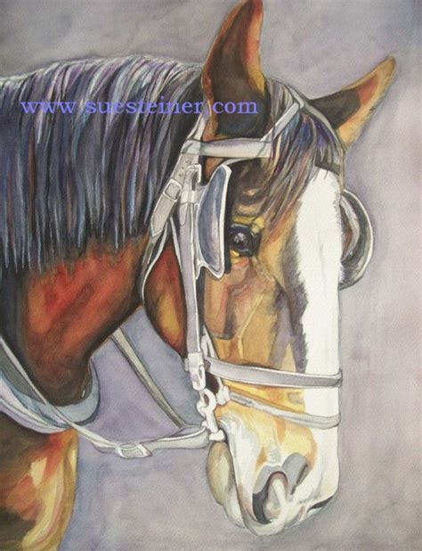 watercolor horse tutorial 109 best horse paintings images on pinterest