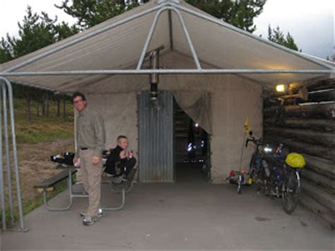 Colter Bay Tent Cabins by Williams Family Adventure Day 35 8 Of Road