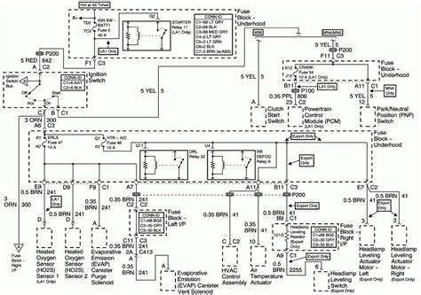 headlight wiring diagram in 2001 freightliner electrical
