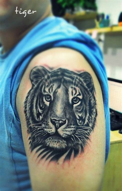 tiger tattoo on forearm tiger tattoos on arm design idea for and