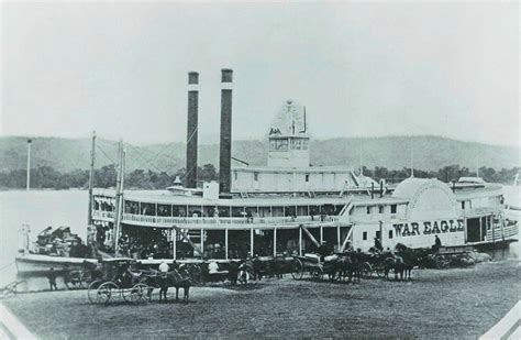 war eagle boats history 1800s steamboat 1800 steamboats group picture image