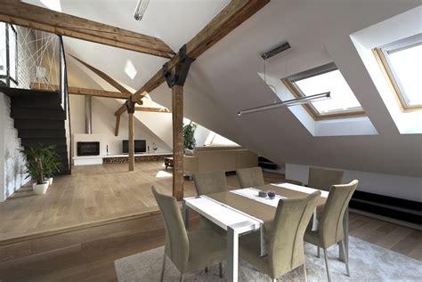 attic loft attic loft reconstruction b 178 architecture archdaily