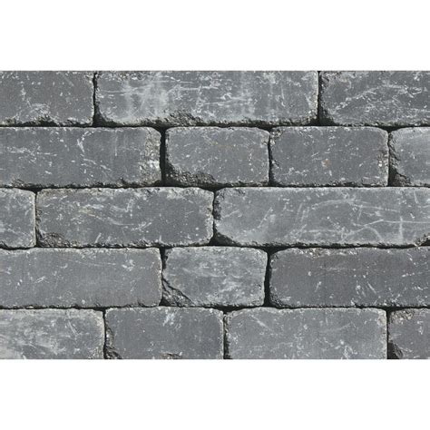 Rockwood Retaining Walls Lakeland I 8 In L X 12 In W X 4 Garden Wall Retaining Blocks