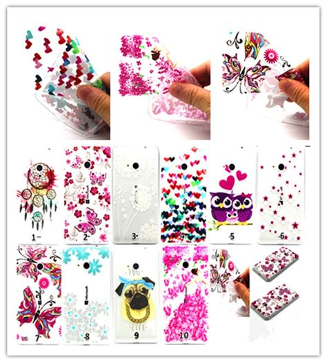 Ultrathin Nokia Lumia 535 3d dandelion flower ultrathin transparent silicon