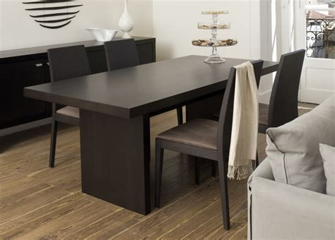 Modern Dining Table Contemporary Dining Table At The Galleria