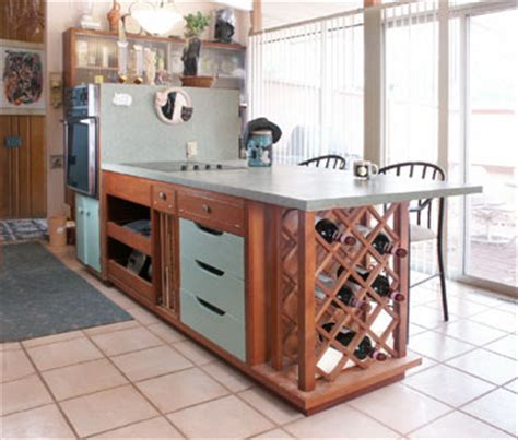 Kitchen Island Wine Rack Kitchen Island Wine Rack