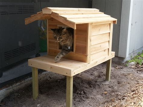 outside cat house image gallery insulated outdoor cat houses