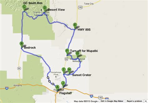 road map trip planner road trip planner for visiting the grand south