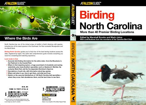 birding north carolina map