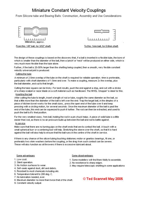 construction assembly and application notes for constant