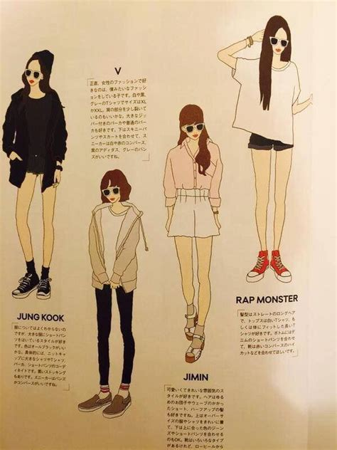 bts ideal type bts ideal type of woman s fashion k pop amino