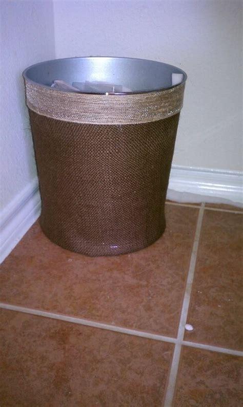glass bathroom trash can 65 best burlap lace mason jars and scrabble pieces