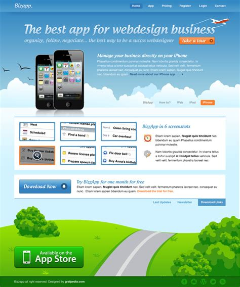 web design layout app how to design an iphone app website layout web layout