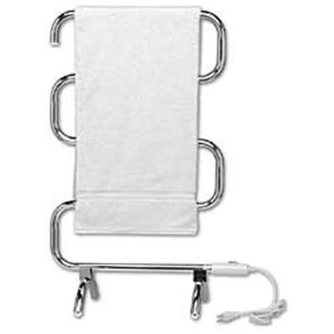 warm rails chrome free standing heated towel rail